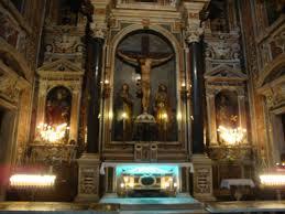 Reliquie di S. Ciro, poste sotto l'Altare