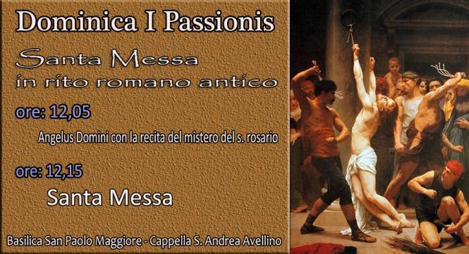 Domenica I Passione