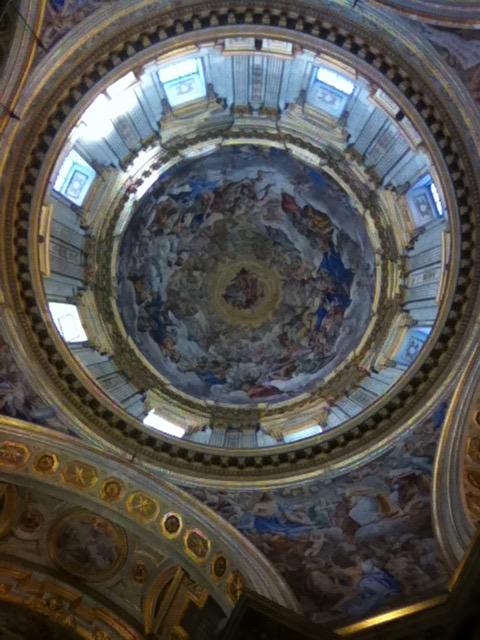 Cupola della Real Cappella di San Gennaro - Giovanni Lanfranco