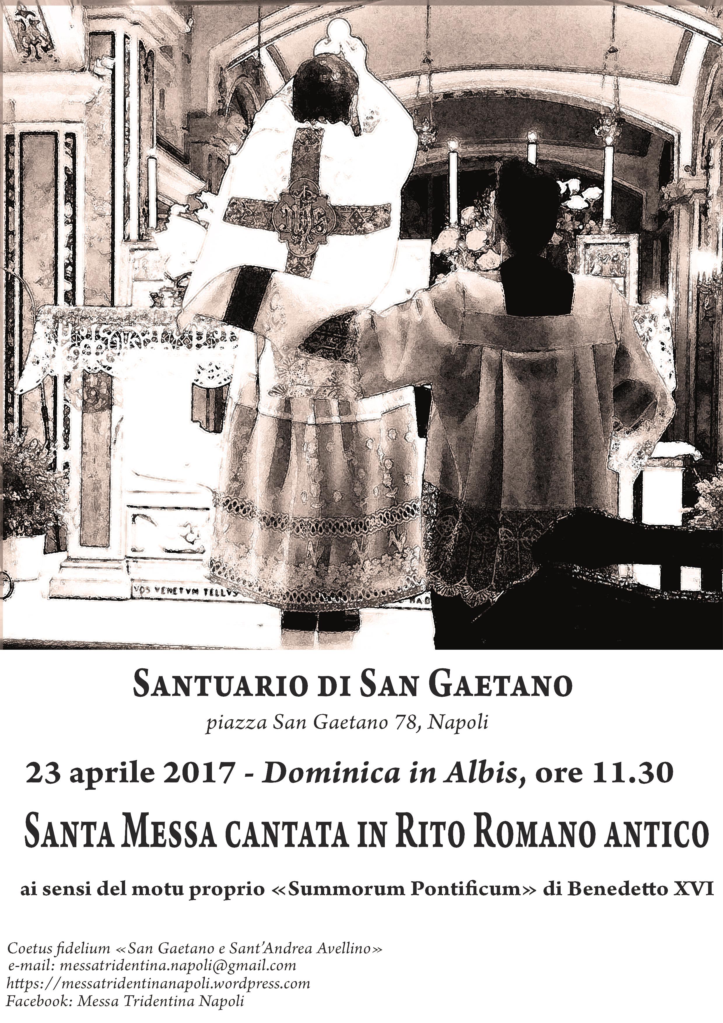 Rito Matrimonio Romano Antico : Aprile domenica in albis s messa cantata
