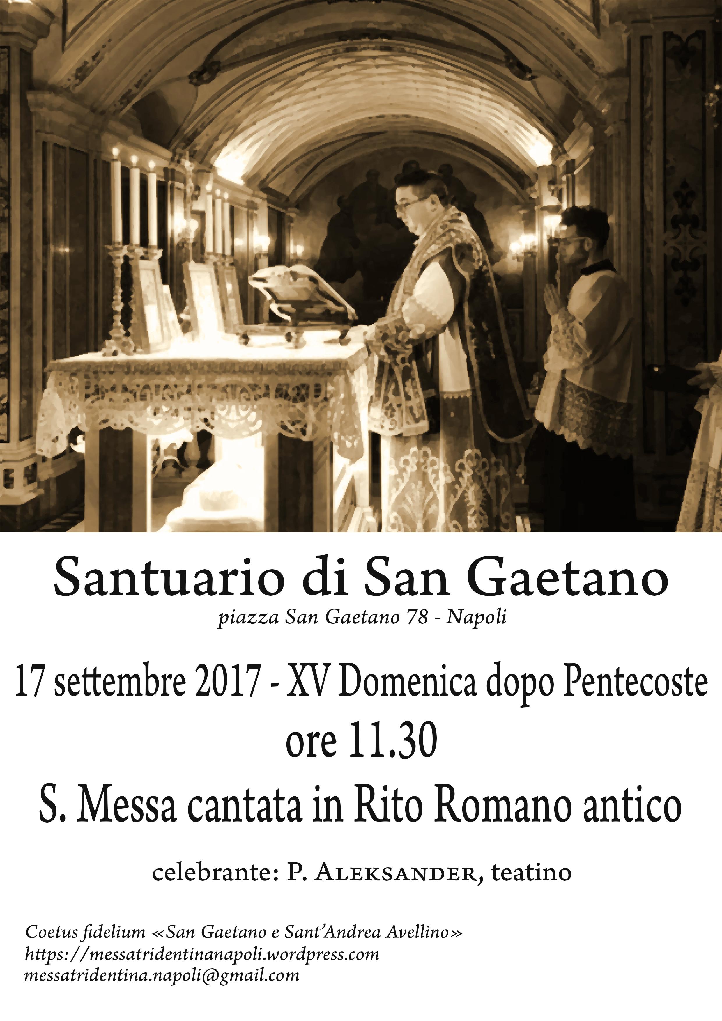 Rito Matrimonio Romano Antico : Napoli xv domenica dopo pentecoste s messa in rito